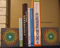 Mandala Bookcase Ends